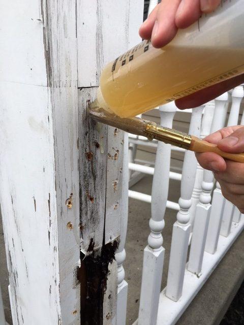 Porch Post Repair Protective Coating Company