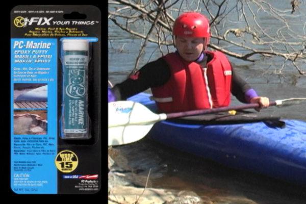 PC-Marine Kayak Repair - After