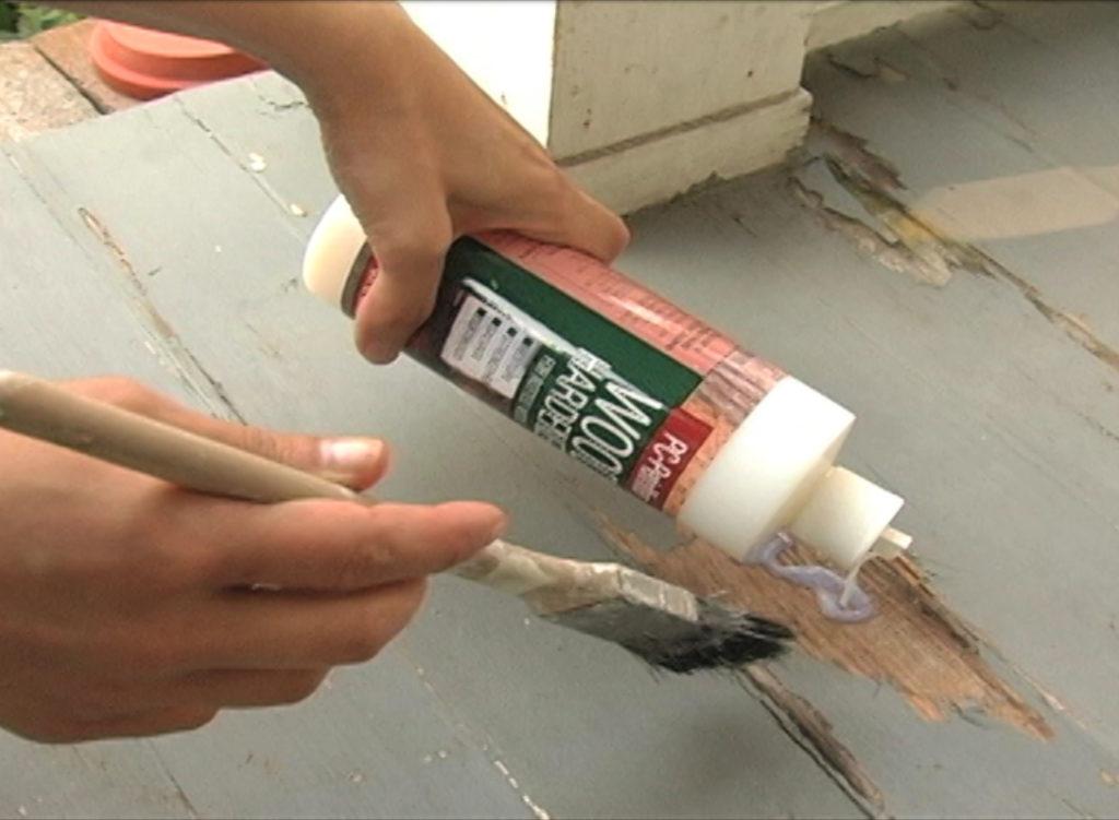 Porch Floorboard Repair Protective Coating Company