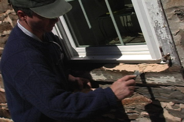 PC Woody Window Sill Repair - Application
