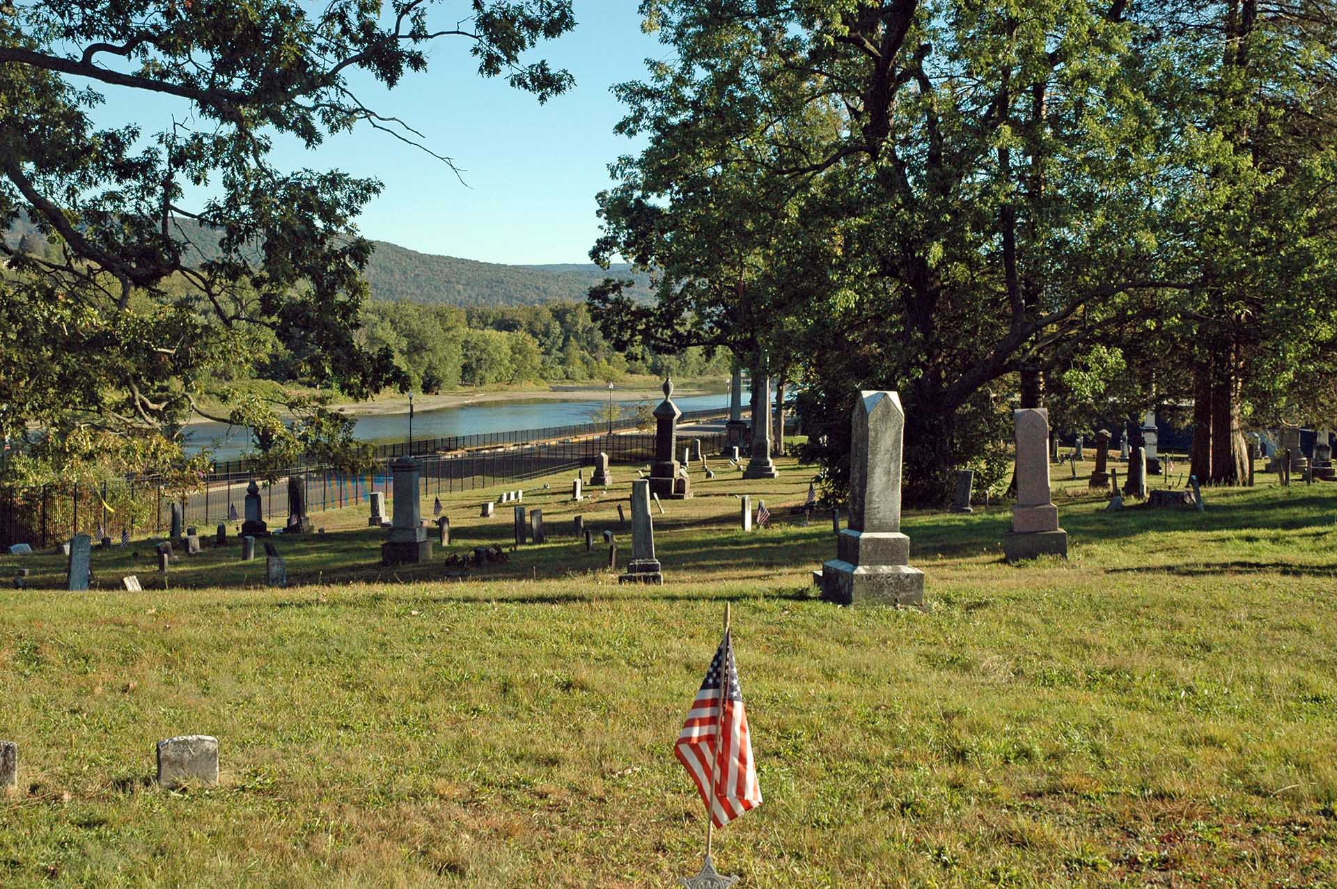 Riverside Cemetery View