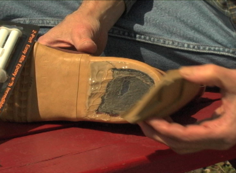 shoe heel repair protective coating company
