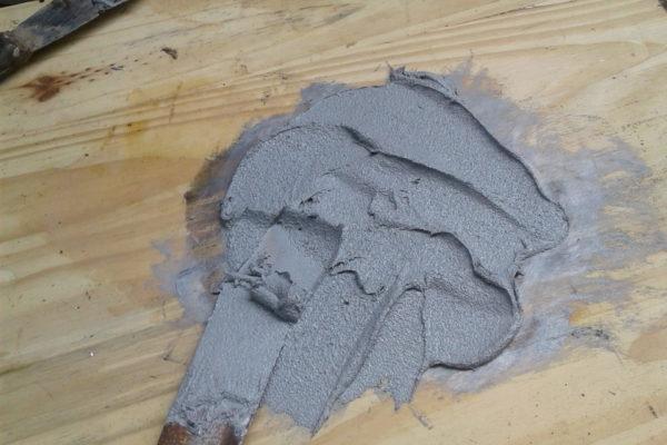Crack and Stucco Repair - EPoxy Mix