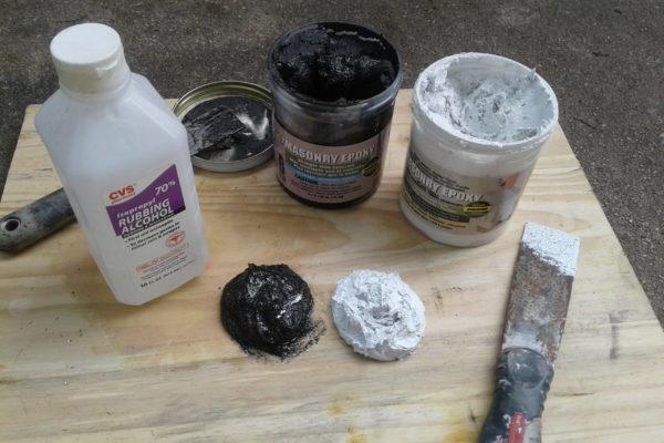 Crack and Stucco Repair - Repair Materials