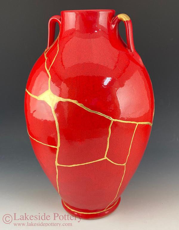 Kintsugi Vase - After - Side 2